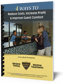 4 Ways to Reduce costs increase profit and improve guest comfort